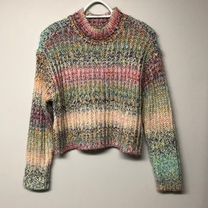 Anthropologie RD Styles Knit,Multi Color Sweater